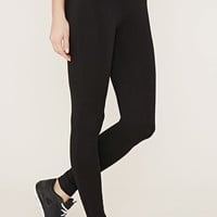Active Folded-Waist Leggings | Forever 21 - 2000168472
