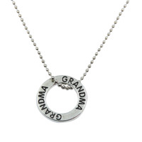 Grandma Forever Circle Necklace