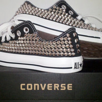 Custom Studded Converse Shoes (FULLY STUDDED SHOES)