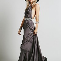 Free People Womens Salt Water Shantoon Maxi