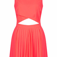 PLEAT SHORT PLAYSUIT