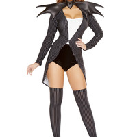 Roma Costume - 4pc Pumpkin Queen Jackie Women's Costume
