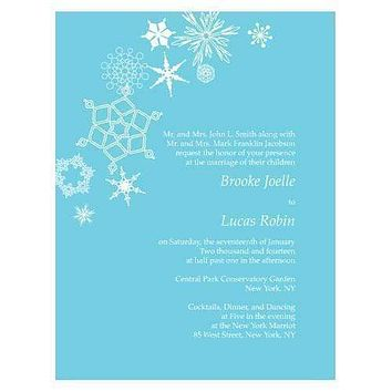 Winter Finery Invitation Berry (Pack of 1)
