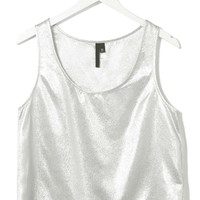 Metallic Vest by Boutique - Topshop