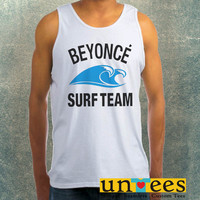 Beyonce Surf Team Clothing Tank Top For Mens