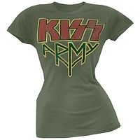 Kiss - Army Juniors T-Shirt
