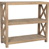 Promenade Horizontal Bookcase, Natural, Bookcases & Bookshelves