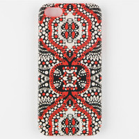 Volcom Chatty Cathy Iphone 5 Case Red Combo One Size For Women 24768934901
