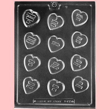 Conversation Heart Chocolate Mold