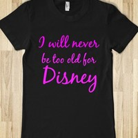 i will never be too old for disney - glamfoxx.com
