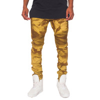 The Heritage Gold Jeans