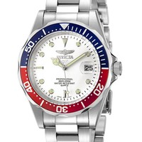 Invicta Men's Pro Diver White Dial Stainless Steel 8933