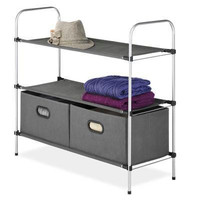 3 Tier Shelves With 2 Drawers