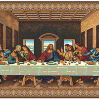 The Last Supper V Tapestry Wall Hanging