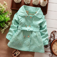 Girls Cardigan Coat Spring/Autumn Jacket. 3 Colors