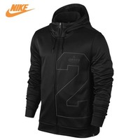 Nike Men's Spring New Air Jordan Basketball Training Hooded Jacket