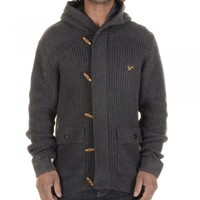 Voi Jeans Voi Jeans Artillery cardigan charcoal marl - Voi Jeans from Great Clothes UK