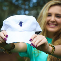 Preppy Stewie Hat - White