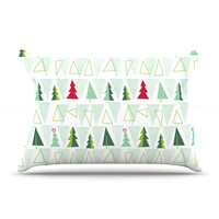 "Allison Beilke ""Pining for Christmas"" Christmas Holiday Pillow Sham"