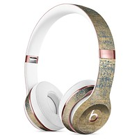 Gold Scratched Foil v3 Full-Body Skin Kit for the Beats by Dre Solo 3 Wireless Headphones