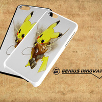 Pikachu Attack On Titan Samsung Galaxy S3 S4 S5 Note 3 , iPhone 4(S) 5(S) 5c 6 Plus , iPod 4 5 case