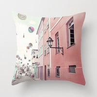"""street party - 20x20"""" pillow cover"""