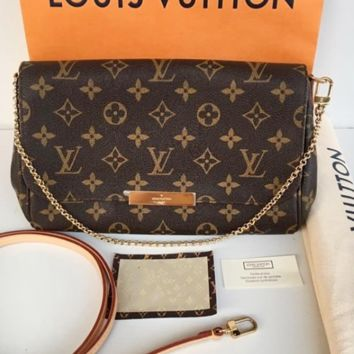 LV tide brand female outdoor personality wild chain bag flip cover shoulder bag
