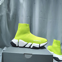 Balenciaga Men's And Women's Flyknit Speed Sneakers Shoes