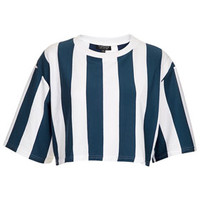 Striped Crop Top - Seeing Stripes   - New In