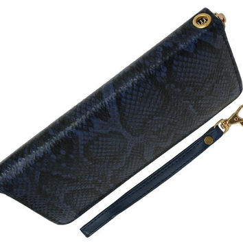 Snake Design Zip-Around Ladies Wallet
