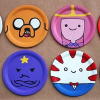 Adventure Time Inspired Magnet - Ornament