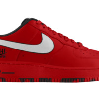 Nike Air Force 1 Low iD Custom Women's Shoes - Red