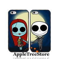 Jack and Sally Case Matching Phone Case Lover Case Lover Phone Case For iPhone4/4s iPhone5/5s/5c Galaxy s3 Galaxy s4