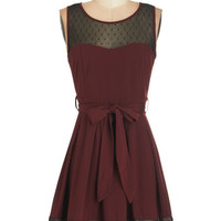 ModCloth Mid-length Sleeveless A-line Altogether Adorable Dress