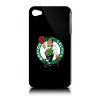 Tribeca Gear FVA3452 Solo Shell Case for iPhone 4 - Boston Celtics - 1 Pack - Retail Packaging - Black