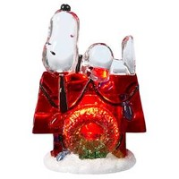 """Kurt Adler 3"""" Battery-Operated Snoopy with Dogho... : Target"""