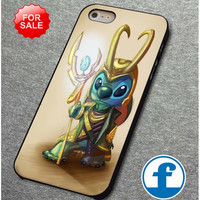 Loki and stitches for iphone, ipod, samsung galaxy, HTC and Nexus phone case
