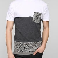 BDG Bandana Pieced Pocket Tee - Urban Outfitters