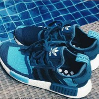 SUMMER11 ADIDAS Women Running Sport Casual Shoes Sneakers camouflage Blue