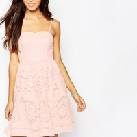 Vila Lace Detail Dress