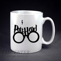 Harry Potter Thick Pott Head Personalized mug/cup