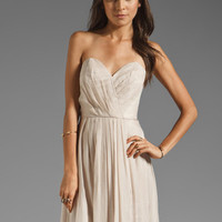 Wish Bella Maxi in Champagne from REVOLVEclothing.com