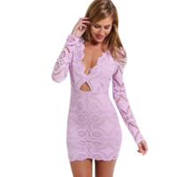 Lavender Chic Dress