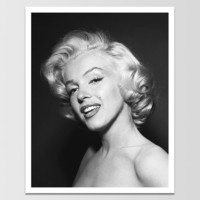 Vintage Marilyn Monroe Smile Print *REMASTERED*