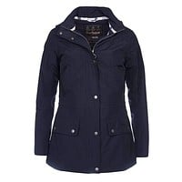 Kinnordy Jacket in Navy by Barbour