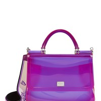 Sicily Purple Rubber Bag