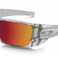 Authentic Oakley Fuel Cell Polished Clear Torch Iridium Sunglasses OO9096-H660