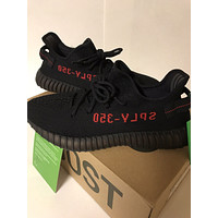 Yeezy Boost 350 V2 Black Red Breds Size 11