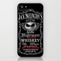 Halloween Nightmare Before Christmas Jack skellingtons Blood Whiskey apple iPhone 3, 4 4s, 5 5s 5c, iPod & samsung galaxy s4 case cover