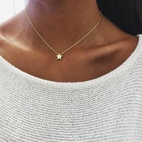 New Arrival Jewelry Shiny Gift Accessory Hot Sale Stylish Thicken Pendant Lock Sweater Necklace [36787191815]